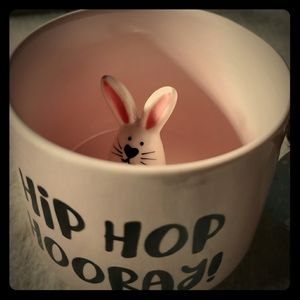 🐰 Peek a Boo 🐇 Bunny mug Hip Hop Hooray!
